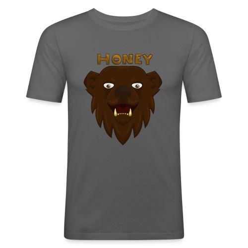 Honey Bear Design! - Men's Slim Fit T-Shirt
