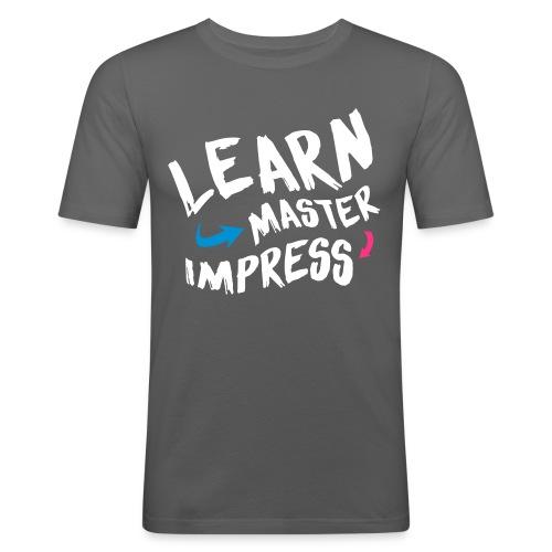 Learn Master Impress 2017 - Miesten tyköistuva t-paita