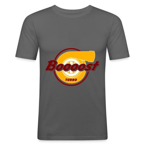Turbo Boost - Männer Slim Fit T-Shirt