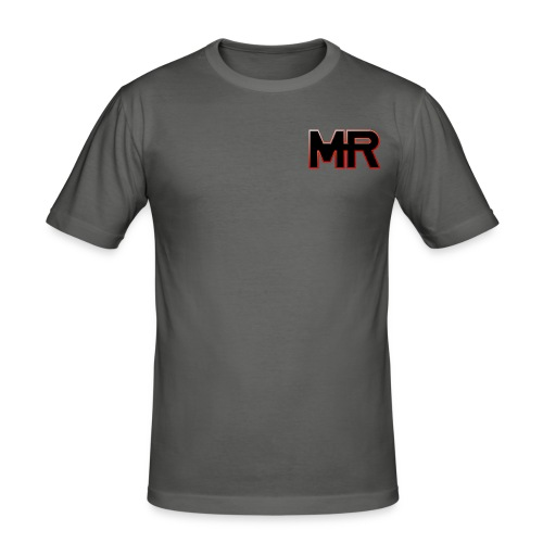 MR logo - Herre Slim Fit T-Shirt