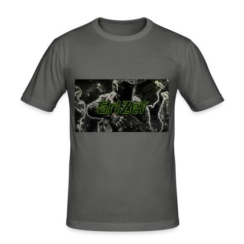 GrIZeT clan - Männer Slim Fit T-Shirt
