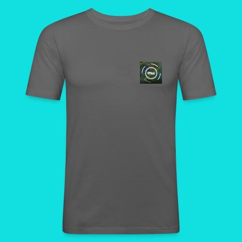 RPBoy Logo - Männer Slim Fit T-Shirt