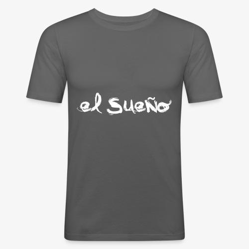 el suegno - Maglietta aderente da uomo