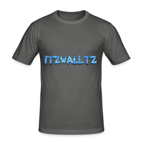 walltz home merch - Slim Fit T-shirt herr