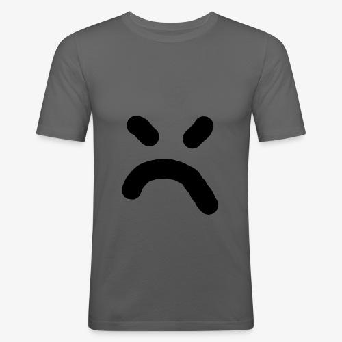 bad smiley - Männer Slim Fit T-Shirt