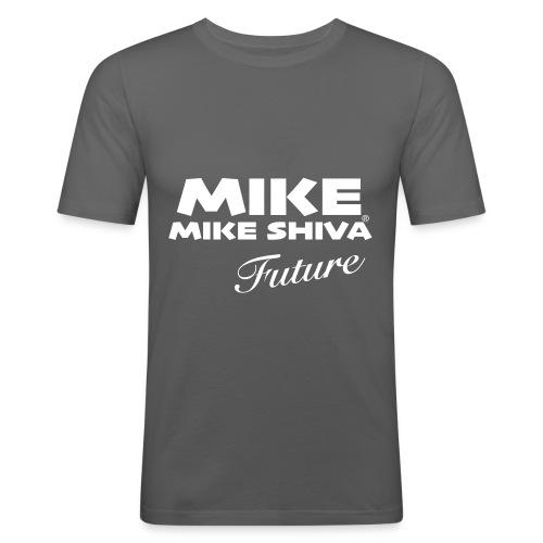 MIKE SHIVA - Männer Slim Fit T-Shirt