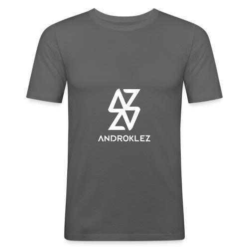 Androklez Logo - Men's Slim Fit T-Shirt