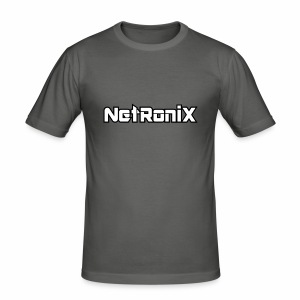 Netronix - Männer Slim Fit T-Shirt