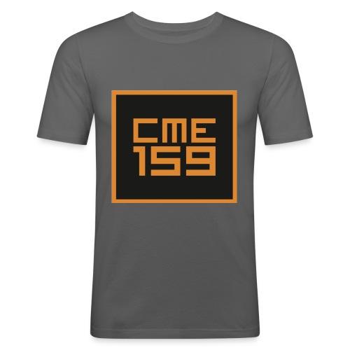 CME159 Oldschool - Männer Slim Fit T-Shirt