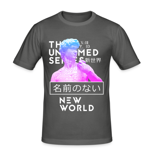 NEW WORLD - Men's Slim Fit T-Shirt