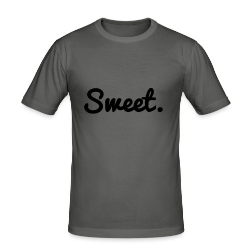 Sweet. - Schriftzug - Männer Slim Fit T-Shirt