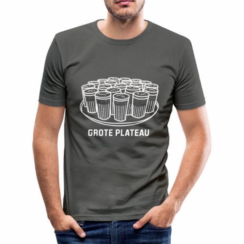 Grote Plateau - slim fit T-shirt