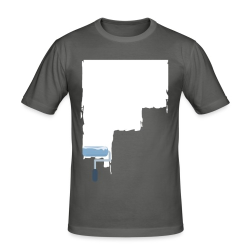 Urban flat design - Männer Slim Fit T-Shirt