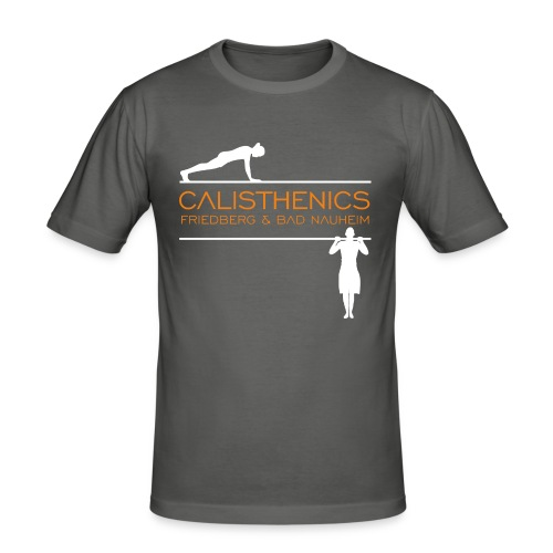 Calis Logo HiRes test - Männer Slim Fit T-Shirt