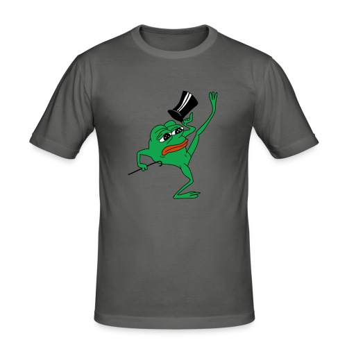 Kekistan President - Men's Slim Fit T-Shirt