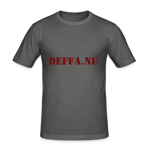 Deffa.nu - Slim Fit T-shirt herr