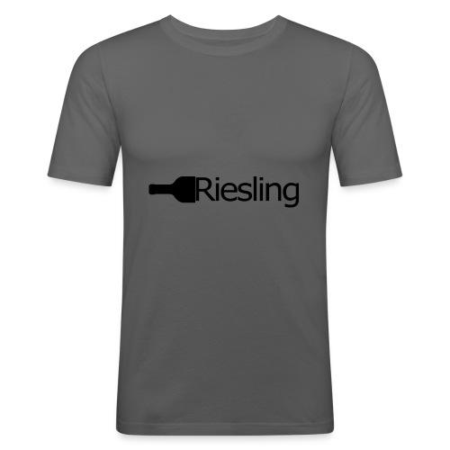 Riesling - Männer Slim Fit T-Shirt