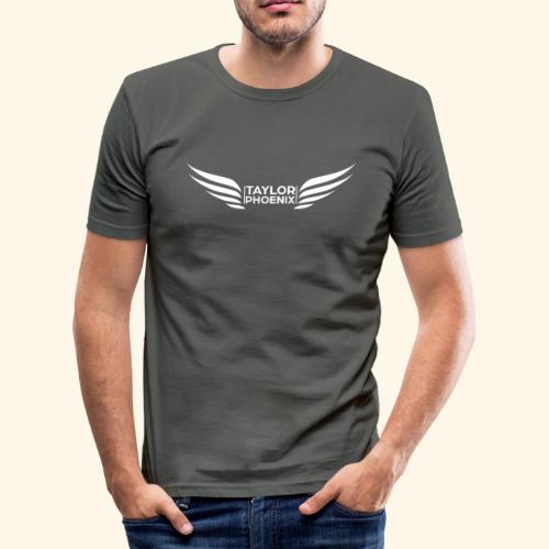 Taylor Phoenix Wings - Männer Slim Fit T-Shirt