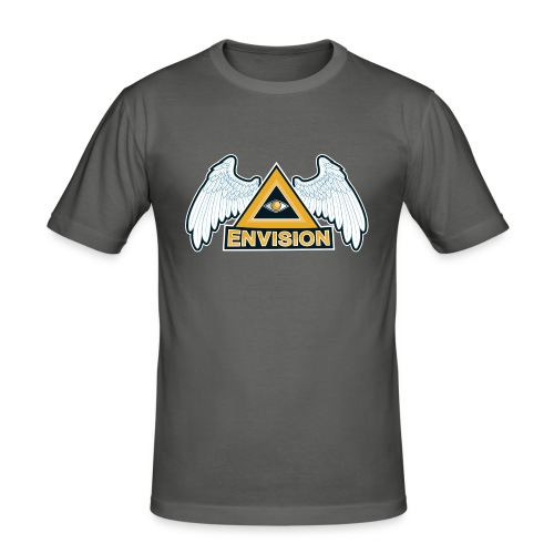 Envision Gaming Mascot - Männer Slim Fit T-Shirt