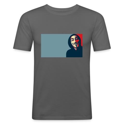 Anonymous - Camiseta ajustada hombre