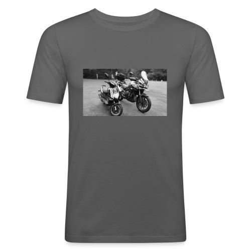 50cc ft 1200cc ! - T-shirt près du corps Homme