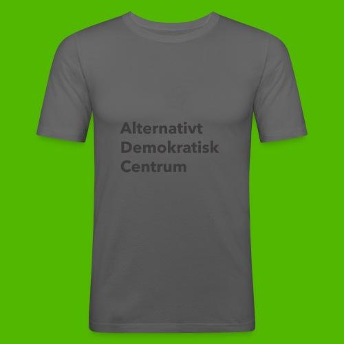 Gråt Navn - Herre Slim Fit T-Shirt