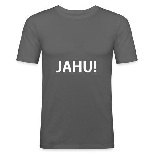 Jahu! - Männer Slim Fit T-Shirt