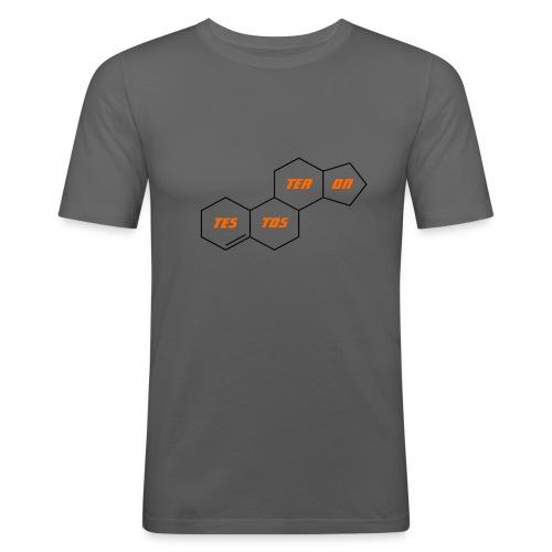 Testosterone Tee Shirt, Testosterone Tee, Gift - Men's Slim Fit T-Shirt