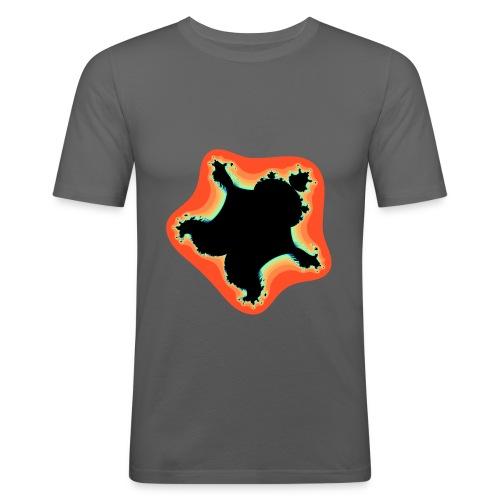 Burn Burn Quintic - Men's Slim Fit T-Shirt