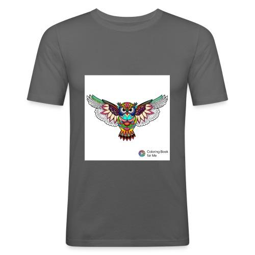 Owl - Men's Slim Fit T-Shirt
