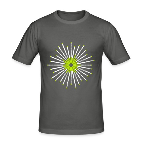 fancy_circle - Men's Slim Fit T-Shirt