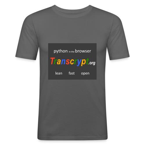 Transcrypt Logo - slim fit T-shirt