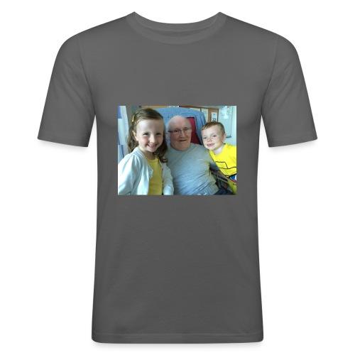 Me Papa Lewis - Men's Slim Fit T-Shirt