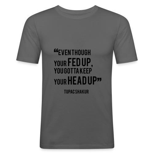 Mental Health Quote 1 - Men's Slim Fit T-Shirt