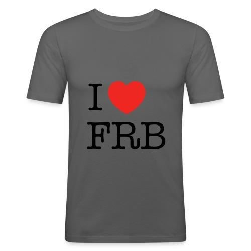 I Love FRB - Streetwear - Herre Slim Fit T-Shirt