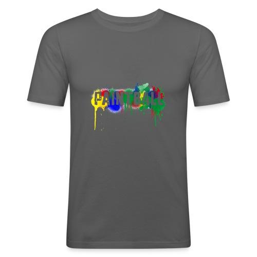 color_paintball - Männer Slim Fit T-Shirt