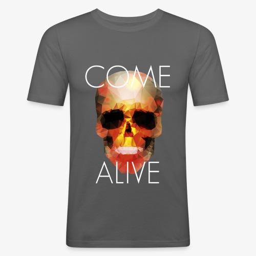 Come Alive - T-shirt près du corps Homme