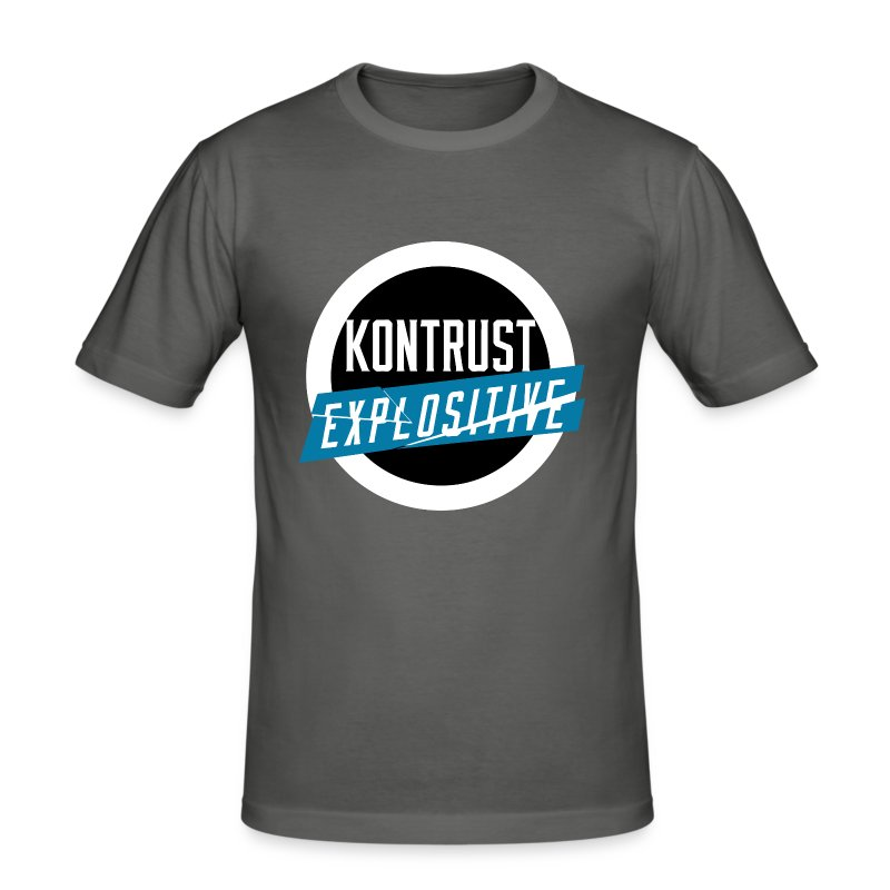 KONTRUST Explositive - Männer Slim Fit T-Shirt