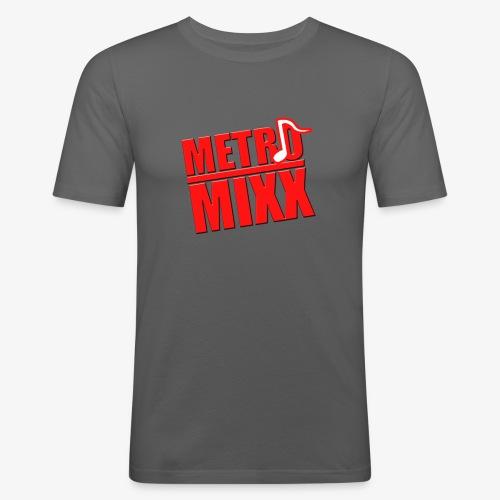 METROMIXX LOGO - Men's Slim Fit T-Shirt