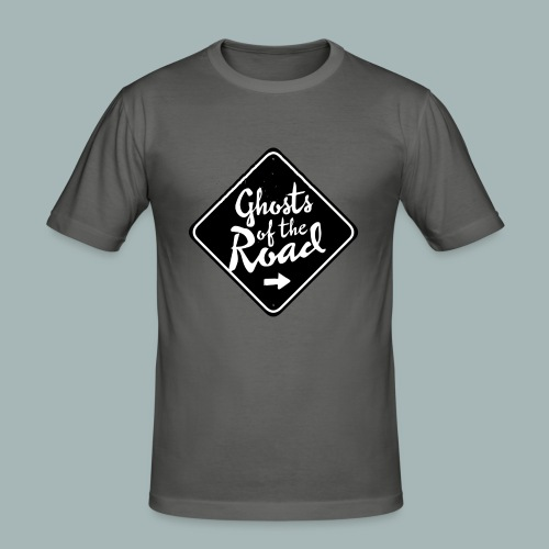 Ghosts of the Road - FreqsTV Official Merch - Männer Slim Fit T-Shirt