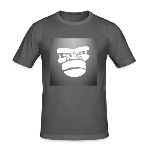 _mad_gorilla__by_marco_itri-d5sojaz - Camiseta ajustada hombre