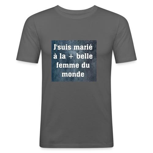 Homme et accessoires - T-shirt près du corps Homme
