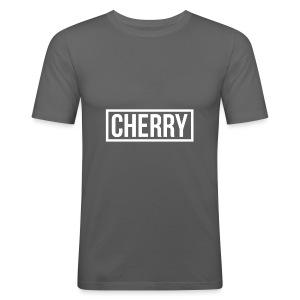 Cherry White - slim fit T-shirt