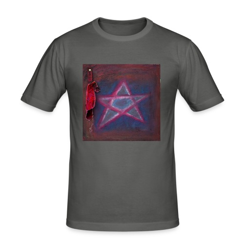 PENTAGRAM - Männer Slim Fit T-Shirt