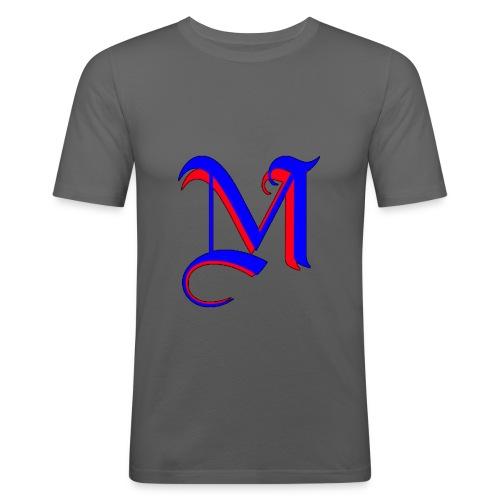 madMusic_Records Logo - Männer Slim Fit T-Shirt
