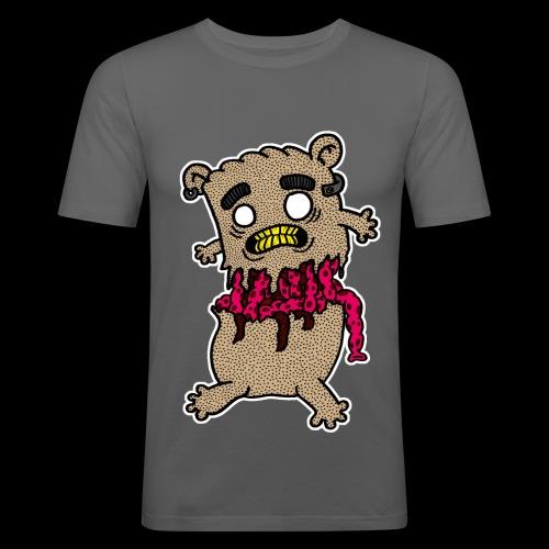Zerissener Teddy - Männer Slim Fit T-Shirt