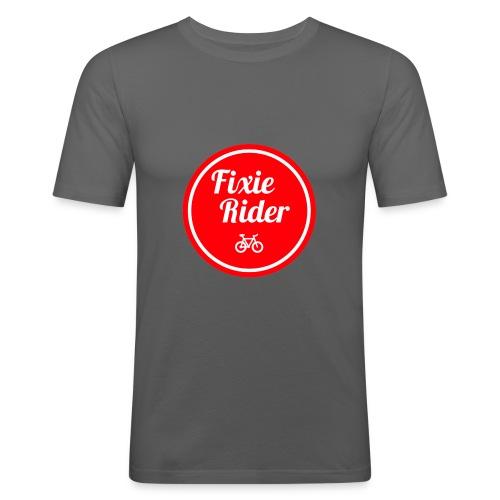 Fixie Rider - T-shirt près du corps Homme