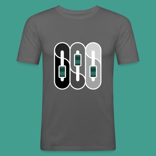 Silverman Sound Studios Logo - Men's Slim Fit T-Shirt
