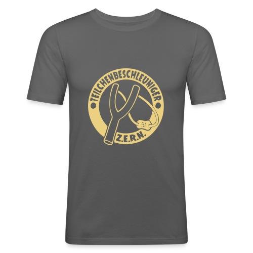 Teilchenbeschleuniger Z.E.R.N. - Männer Slim Fit T-Shirt