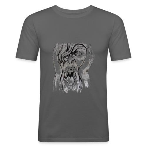 Urlante - Maglietta aderente da uomo